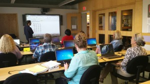 Detroit area adults get training in Microsoft Office Suite through The Hermelin Resource Center Better Job Opportunities class, paid for in part by proceeds from Bookstock.